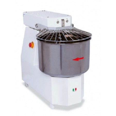 Spiral mixer 2200 with fixed head - STARPIZZA