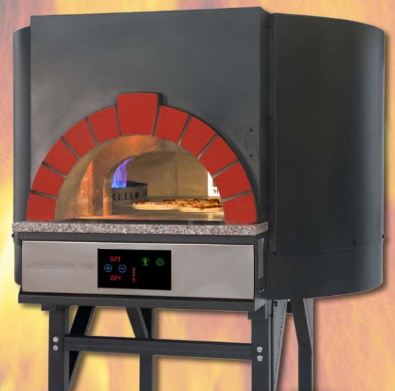 Forno pizza legna gas serie mix starpizza for Forno per pizza su fornello a gas